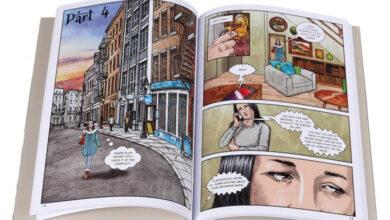 Photo of Pete Katz and «The Prophet: A Graphic Novel» [en]